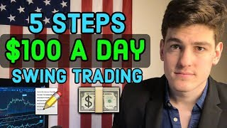 How To Make $100 A Day Swing Trading 📝