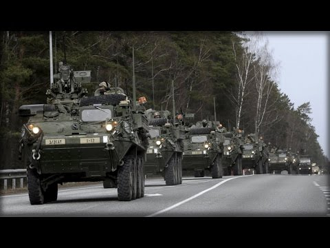 NATO PLANS 40K FORCE, BASES ON RUSSIA'S BORDER