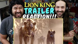 THE LION KING Official TRAILER - REACTION!!!