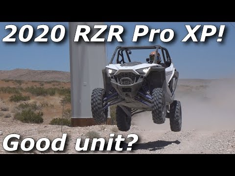 2020 Polaris RZR XP Pro Turbo ride REVIEW! WE RIP IT!