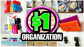 35 Dollar Store Organization Hacks & Ideas (REAL LIFE HACK IDEAS you will actually use!)