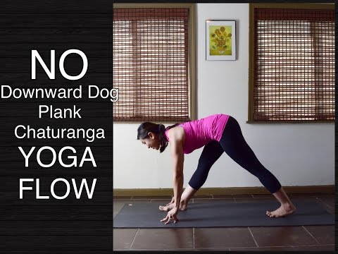 30 Minute Wrist Free Hands Free Yoga Flow - Standing Poses