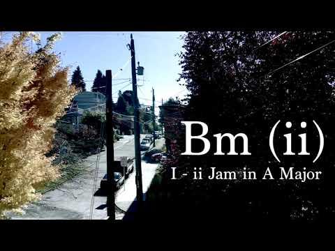 A Major Jam Track  I   ii