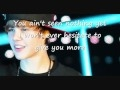 Justin bieber U smile acoustic lyrics