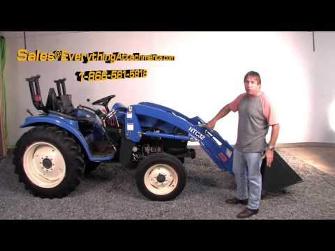 Front End Loader for New Holland Tractors at Everything Attachments