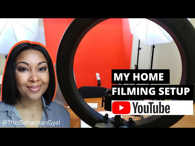 VLOG | My YouTube Filming Setup | How I Record Videos | This Bahamian Gyal