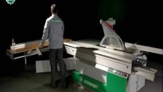 Watch An Altendorf SAW Dividing Panels