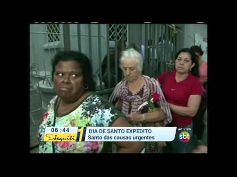 Primeiro Impacto (19/04/16) Fiéis Lotam Igrejas Para Celebrar O Dia De Santo Expedido - Parte 1