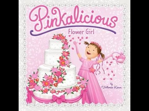 Pinkalicious FLOWER GIRL Read Along Aloud Story Audio Book for Children and Kids