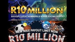 Sports Betting Max Payouts for Hollywoodbets, WSB and Supabets - R10 Million