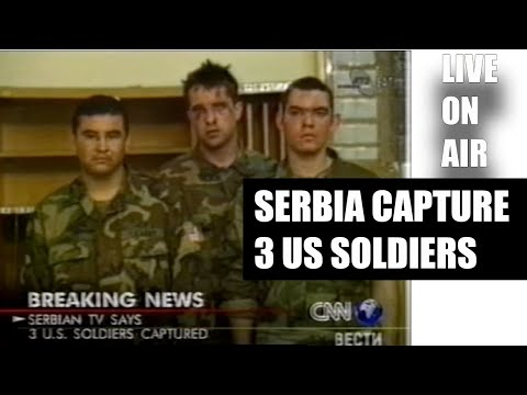 Serbia Capture 3 US Soldiers I Live On Air I 01.04.1999 I Fake News I Must See