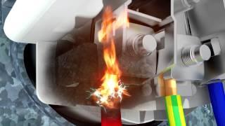film Sécurité électrique : Protection contre l'arc électrique dangereux - Schneider Electric