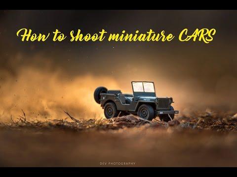 Miniature car Shoot | Behind the Scenes