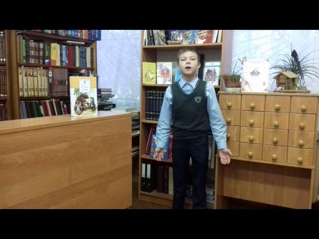 Изображение предпросмотра прочтения – ВладиславКомаров читает произведение «Ворона и Лисица» И.А.Крылова