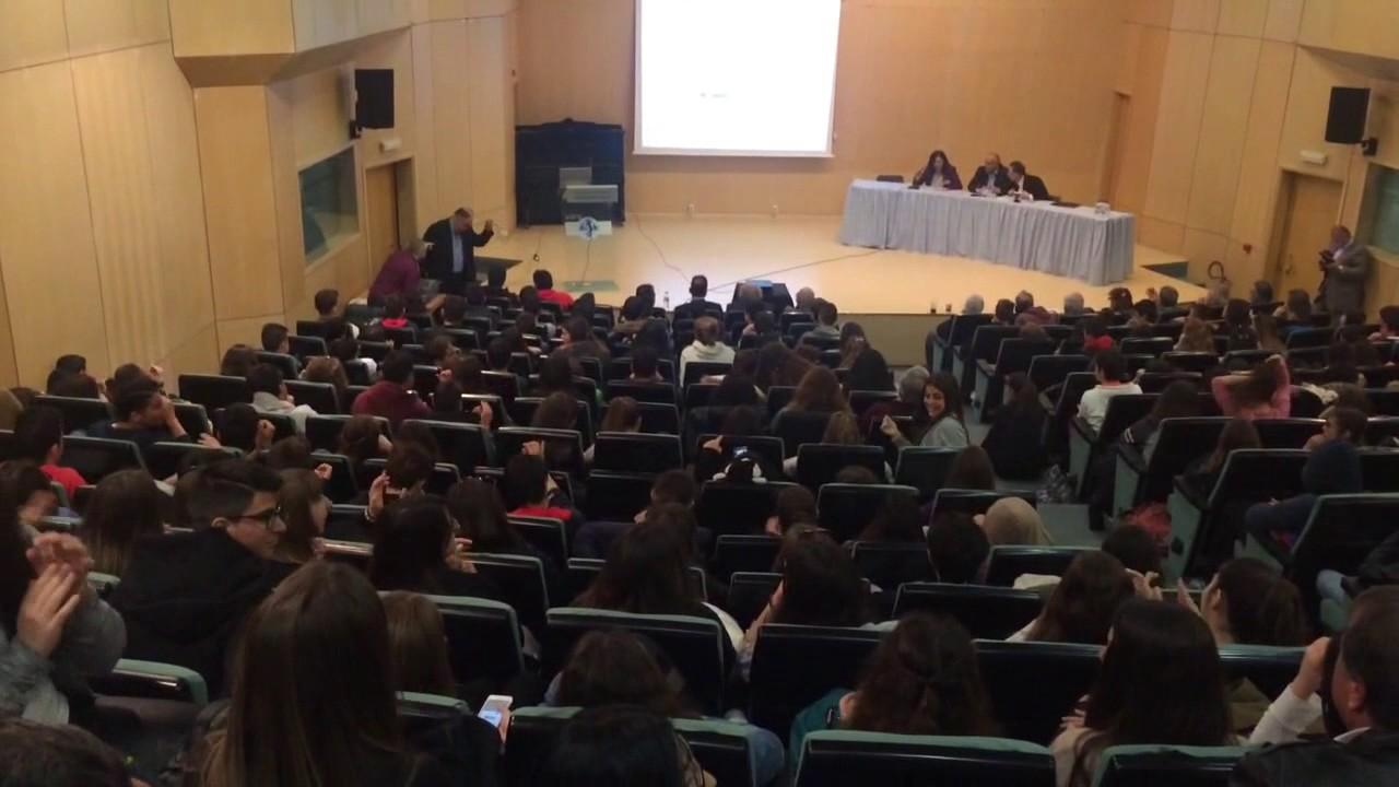 Πραγματοποιήθηκε διάλεξη στο Πανεπιστήμιο Πελοποννήσου με θέμα: «Η δραχμή δεν (θα) είναι λύση»