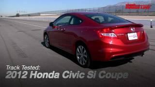 Honda Civic Si Concept Coupe 2012 Videos
