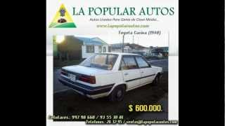 .:La Popular Autos:. - Toyota Carina (1988)