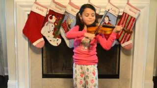 "Polar Express ""Believe"" played on violin by Leila, age 6"