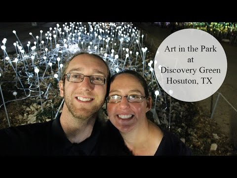 Art in the Park - Discovery Green Houston, TX