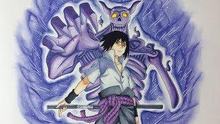 Drawing Sasuke Uchiha - Susanoo