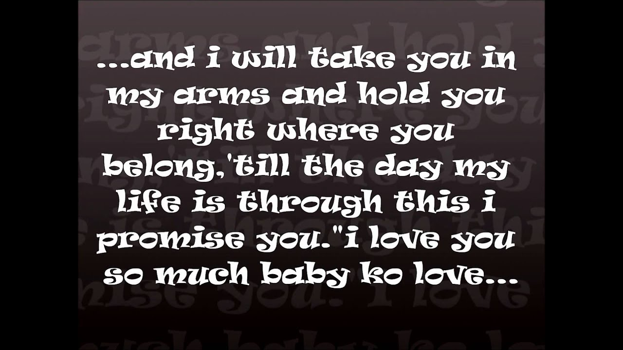 I Love You Has 8 Letters Quotes : HAPPY 9TH ANNIVERSARY TO US BABY KO LOVE... - YouTube