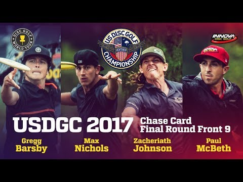 USDGC 2017 Final Round Chase Card Front 9