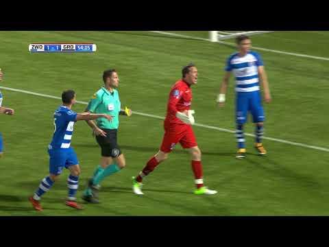 Samenvatting PEC Zwolle - FC Groningen: 3-2