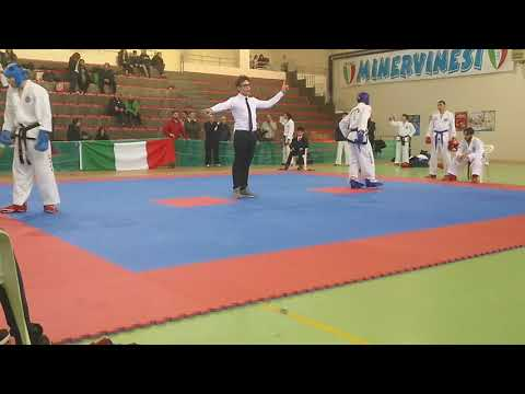 Tancredi Nicolò VS Mazzone Francesco Saverio gara Minervino Murge 11.03.18