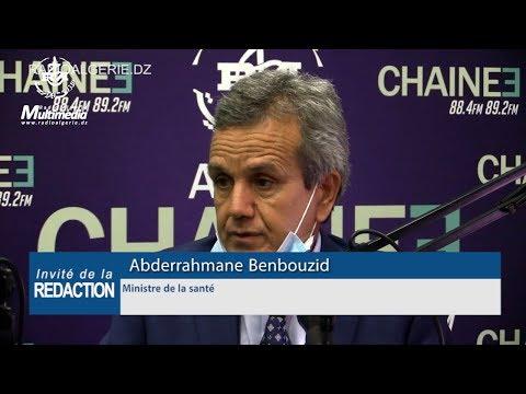 Abderrahmane Benbouzid Ministre de la santé