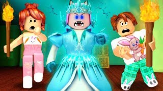 DESTRUAM A RAINHA DO GELO (Roblox- Destroy The Snow Queen)