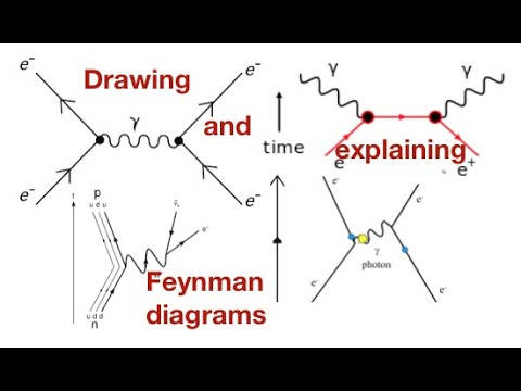 Feynman Diagrams A Beginners Guide In 6 Minutes From Fizzics