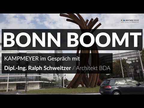 Bonn boomt: Architekt Ralph Schweitzer im Interview