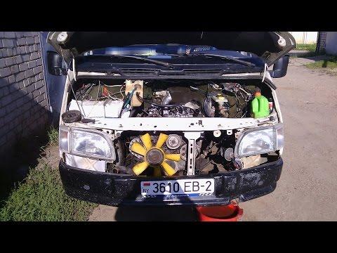 Начало ремонта Транза Форд от Андрюхи .