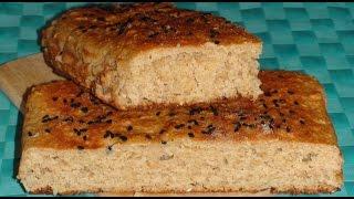Диетический Овсяный хлеб, без глютена.