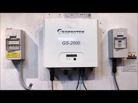 Geoprotek Solar Inverter Blank Display - Gold Coast Solar