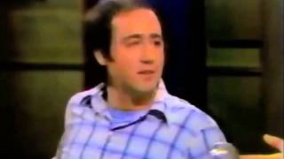 Andy Kaufman On Letterman (11/17/83)