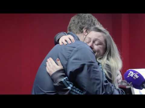 John Grant Surprises Claire Beck - LIVE on air.