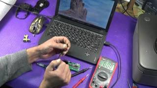 Ремонт и  чистка мышки X7