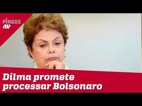 Dilma Rousseff vai processar Bolsonaro