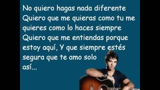 LLena De Amor - Luis Fonsi ( Con Letra )