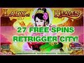 27 FREE SPINS Retrigger City Lady Of Heaven