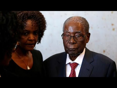 Zimbabwe President, Mnangagwa claims Mugabe is 'unable to walk'