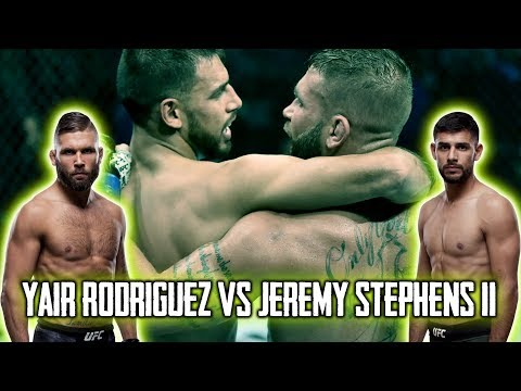 Yair Rodriguez VS Jeremy Stephens || UFC BOSTON