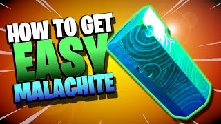 How to get MALACHITE in Fortnite Save the World *without Trading*