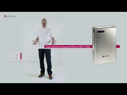 LG Chem Residential Energy Storage RESU6.4EX Installation Video (ESS)
