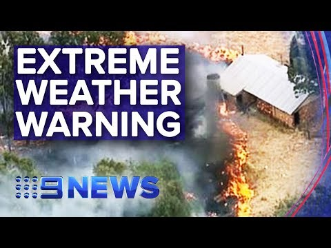 Victoria Braces For 'code Red' Fire Conditions | Nine News Australia
