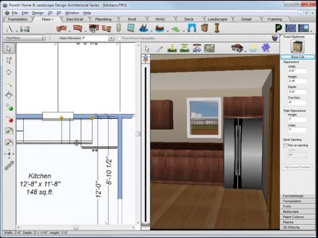 Architect 3d Kitchens Tutorial Youtube