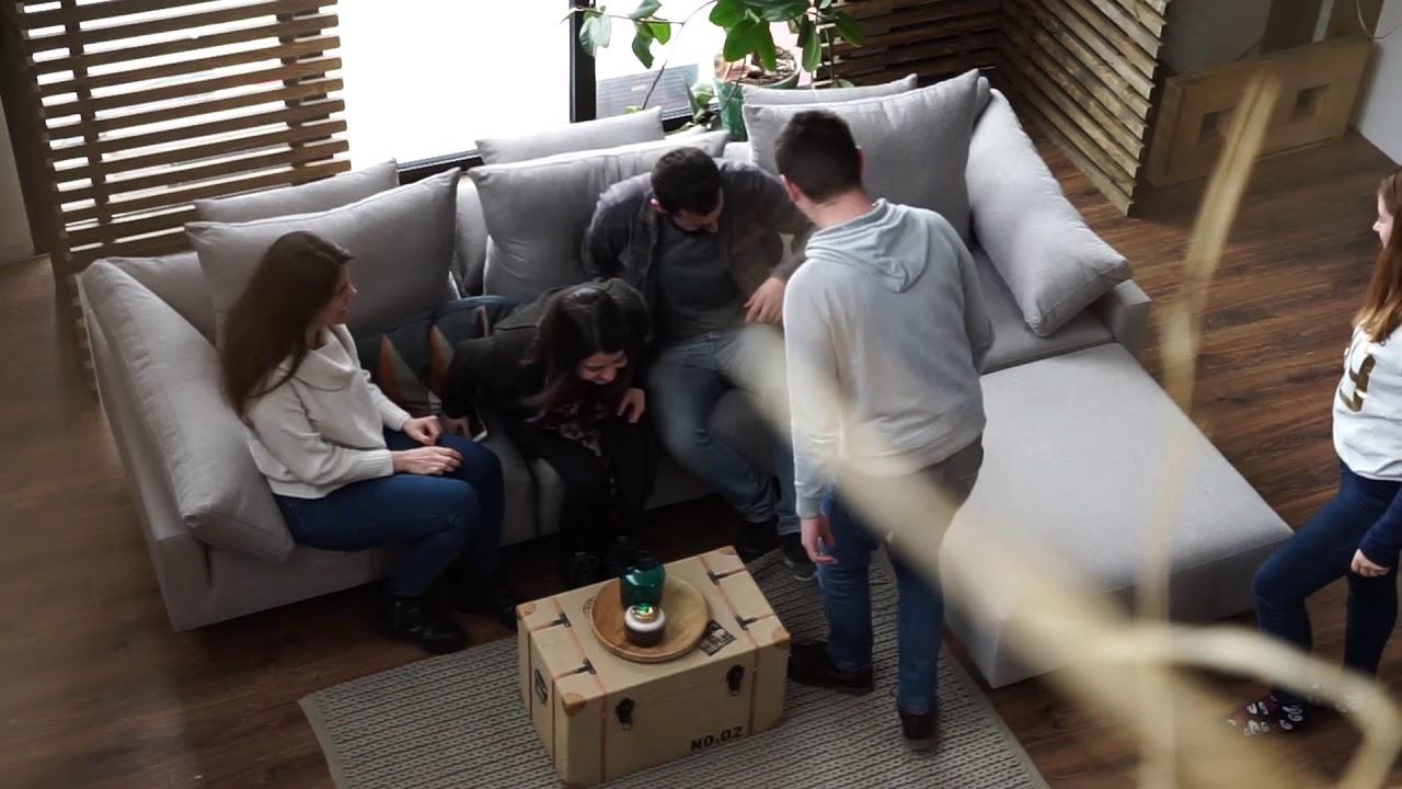 Wunderbar 2 Sitzer Sofa Mit Recamiere Ideen Von Modulares Verwandlungssofa Feydom Cuban 2-sitzer 3-sitzer-sofa Schlaffunktion