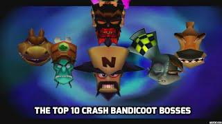 The Top 10 Crash Bandicoot Villains Youtube