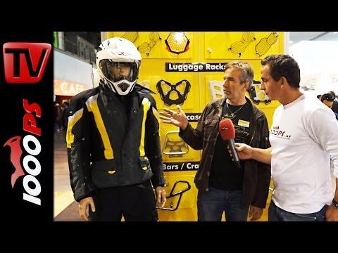 Touratech Compañero 2014 Motorradbekleidung @EICMA 2013